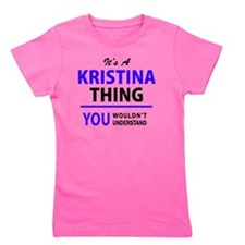 Cute Kristina Girl's Tee