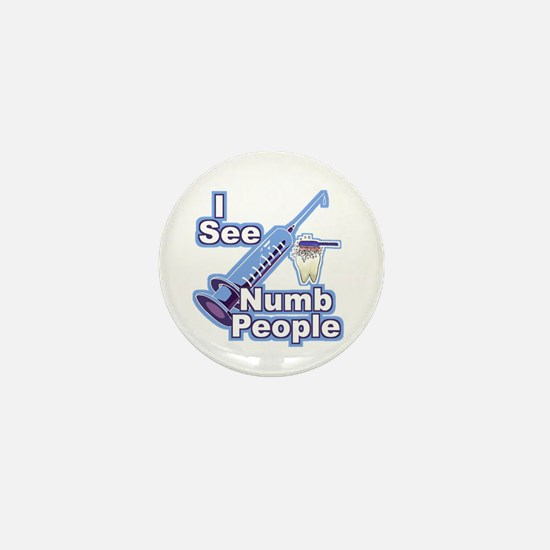 I See NUMB People! Novocaine Mini Button