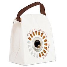 Caffeine loading Canvas Lunch Bag