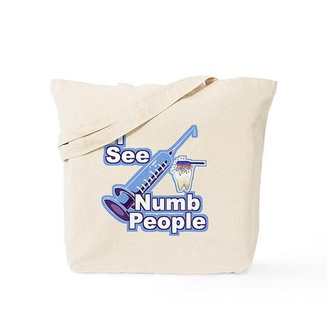 I See NUMB People! Novocaine Tote Bag