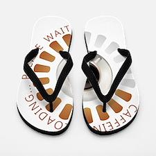Caffeine loading Flip Flops