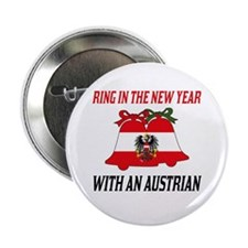 "Austrian New Years 2.25"" Button (10 pack)"