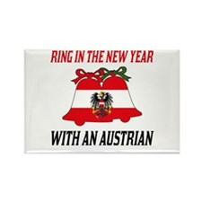 Austrian New Years Rectangle Magnet