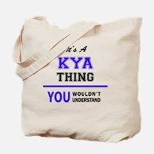 Cute Kya Tote Bag