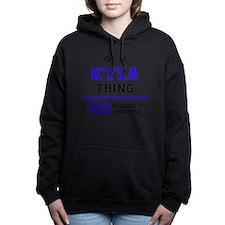Cute Kyla Women's Hooded Sweatshirt