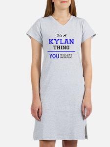 Cute Kylan Women's Nightshirt