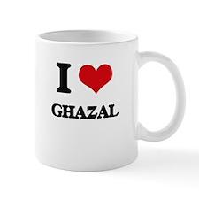 I Love GHAZAL Mugs