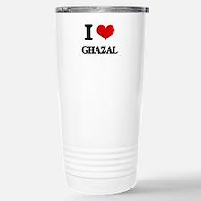 I Love GHAZAL Travel Mug
