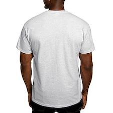 NASA logo STS118 Patch Ash Grey T-Shirt