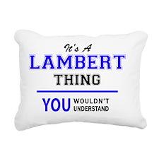 Unique Lambert Rectangular Canvas Pillow