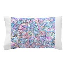 Crazy Quilt (Lt.) Pillow Case