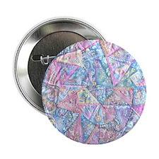 "Crazy Quilt (Lt.) 2.25"" Button (10 pack)"