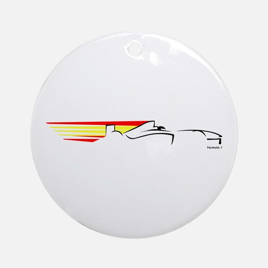 Formula 1 Spain Ornament (Round)