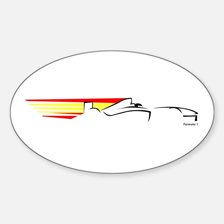 Formula 1 Spain Oval Decal