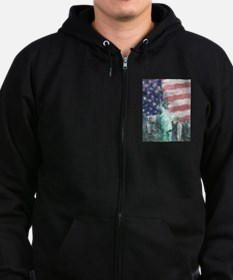 Blessed With Liberty Zip Hoodie