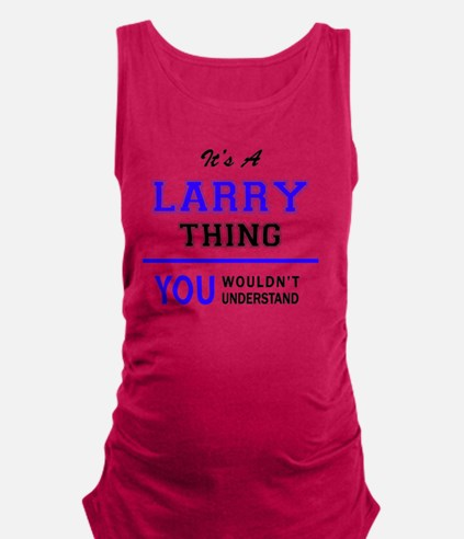 Unique Larry Maternity Tank Top