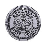 Arkansas State Police Ornament (Round)