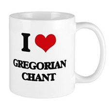 I Love GREGORIAN CHANT Mugs