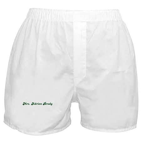 Mrs. Adrien Brody Boxer Shorts