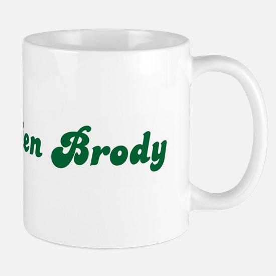 Mrs. Adrien Brody Mug