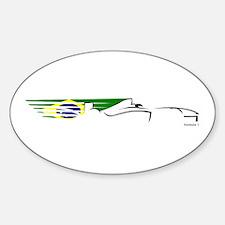 Formula 1 Brazil Oval Decal