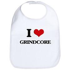 I Love GRINDCORE Bib
