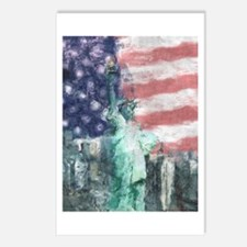 Blessed With Liberty Postcards (Package of 8)