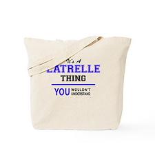 Unique Latrell Tote Bag