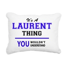 Unique Laurent Rectangular Canvas Pillow