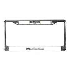 """""""Transport and rescue"""" License Plate Frame"""