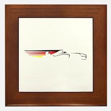 Formula 1 Germany Framed Tile