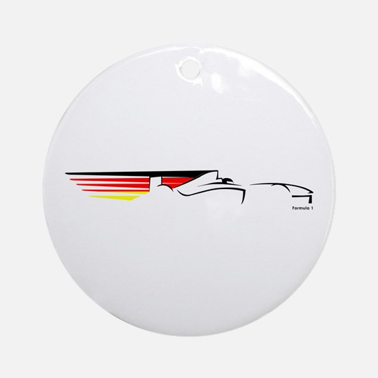 Formula 1 Germany Ornament (Round)