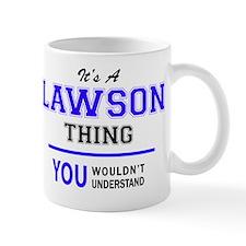 Cute Lawson Mug