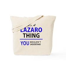 Cute Lazaro Tote Bag