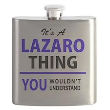 Cute Lazaro's Flask