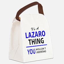 Unique Lazaro Canvas Lunch Bag