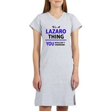 Cute Lazaro's Women's Nightshirt