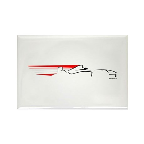 Formula 1 Austria Rectangle Magnet (10 pack)
