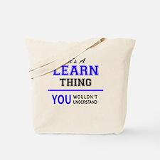 Cool Learn Tote Bag