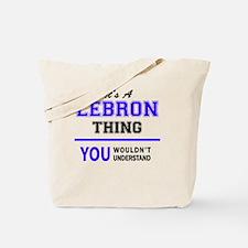 Cute Lebron Tote Bag