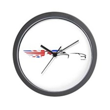 Formula 1 UK Wall Clock
