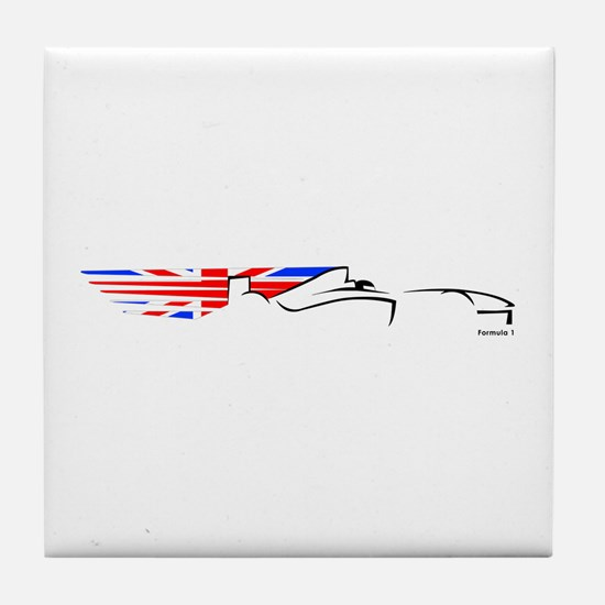 Formula 1 UK Tile Coaster