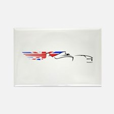 Formula 1 UK Rectangle Magnet (10 pack)