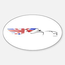 Formula 1 UK Oval Decal