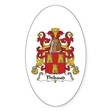 Thibaud Oval Decal