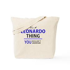 Cute Leonardo Tote Bag