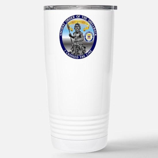 Navy Shellback Travel Mug