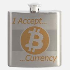 I Accept Bitcoin Flask