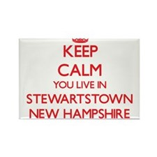 Keep calm you live in Stewartstown New Ham Magnets