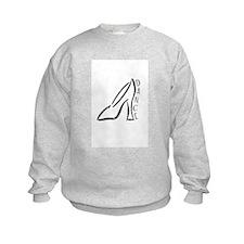 Dance Shoe Sweatshirt